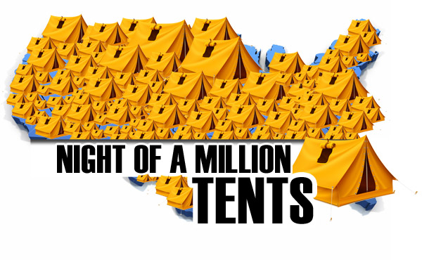 NIGHT OF A MILLION TENTS - OCTOBER 29TH, 2011