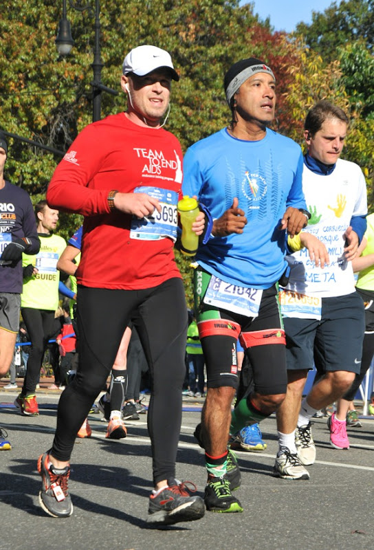 2014 New York Marathon runner