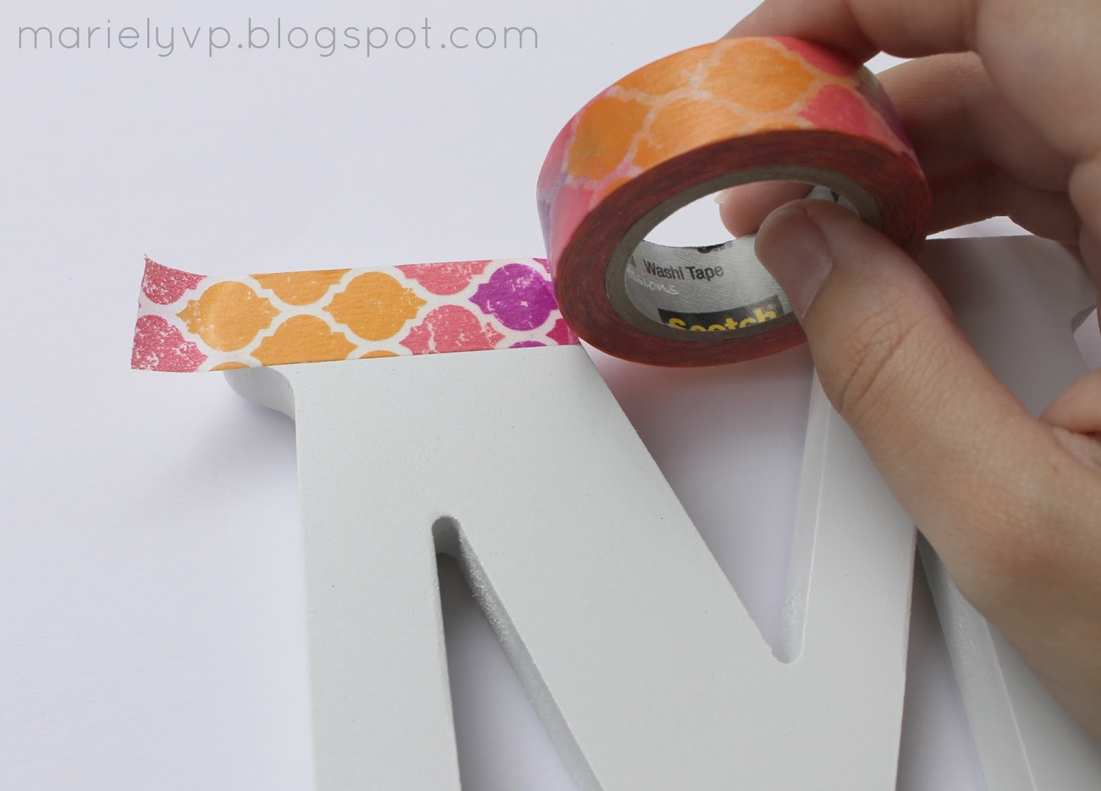 Diy Washi Tape we read!: diy: washi tape letter {and key covers}
