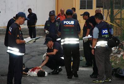Lelaki ditangkap selepas membunuh