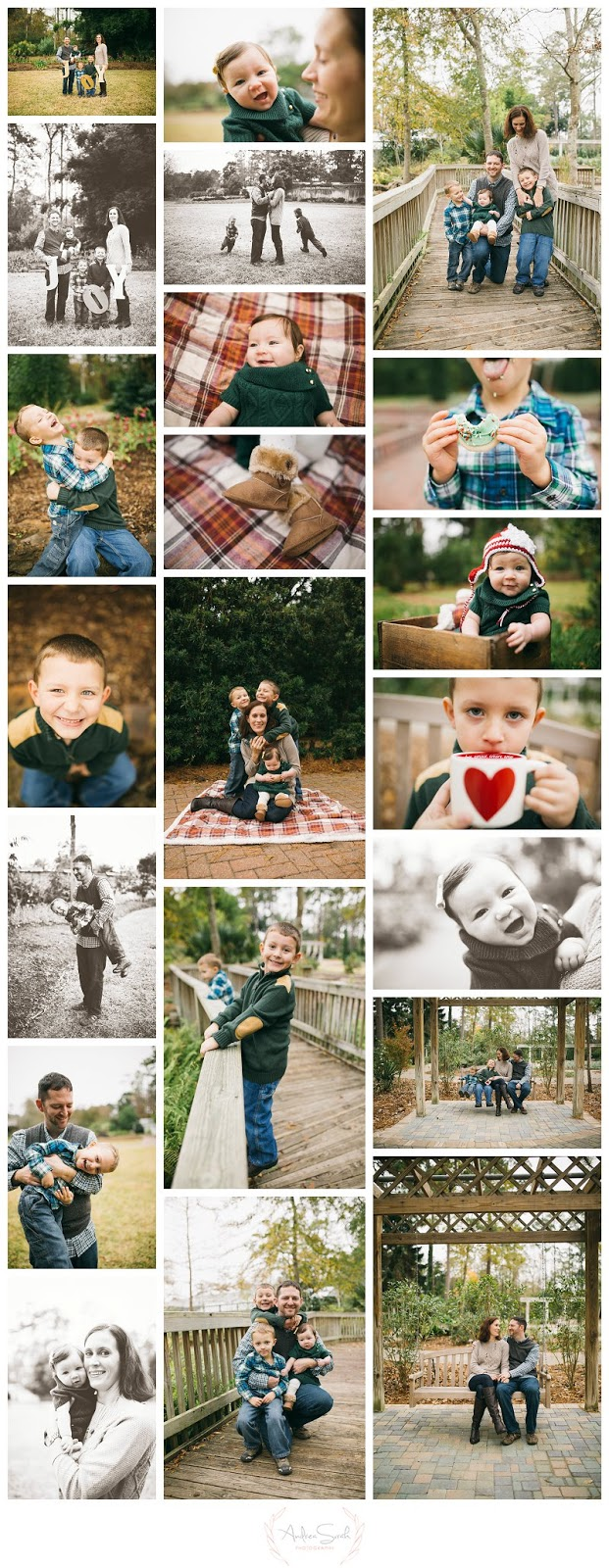 Outdoor Family Photography The Woodlands