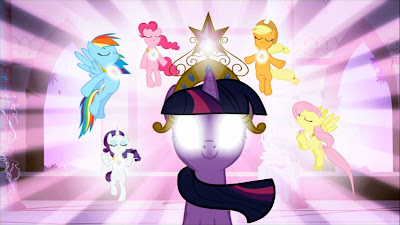 The Mane Six use the Elements of Harmony