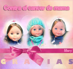 Homenaje de Mery contra el cancér de mama.