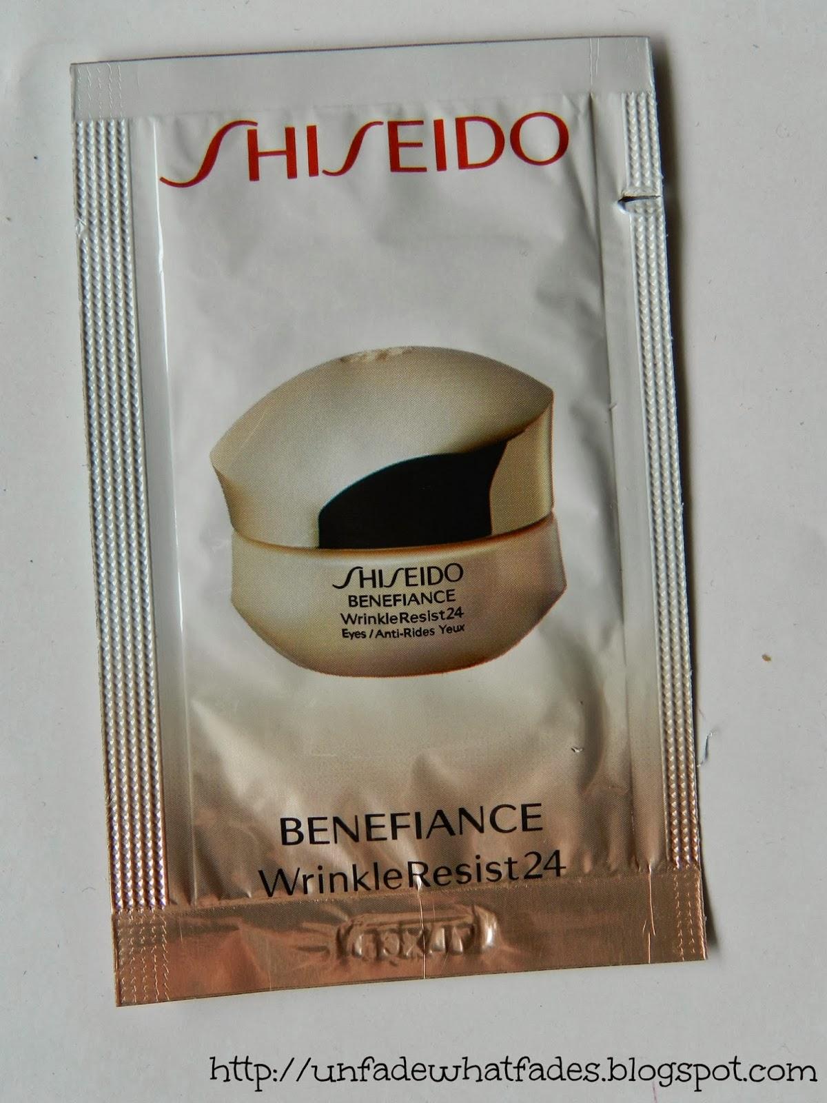 unfade what fades shiseido bio performance super corrective eye cream and benefiance wrinkle. Black Bedroom Furniture Sets. Home Design Ideas
