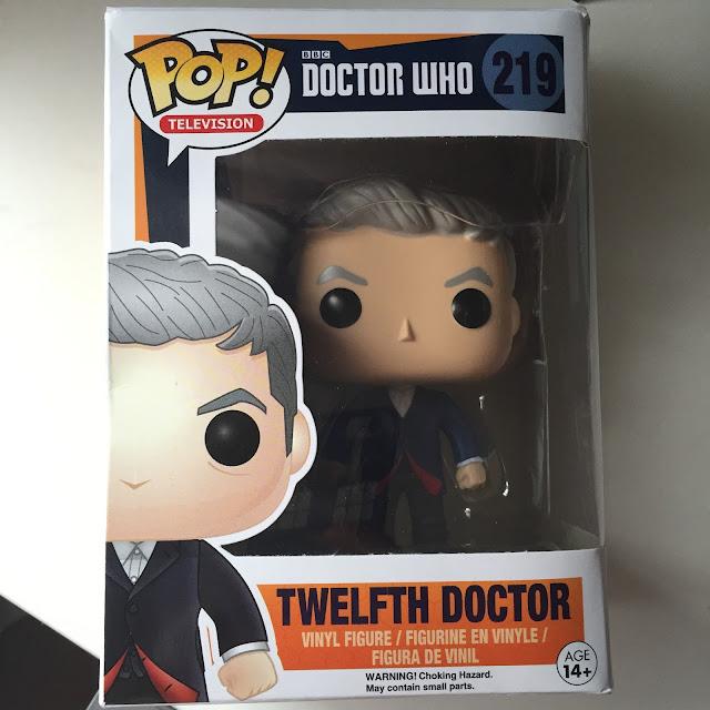 Twelfth Doctor Pop Vinyl