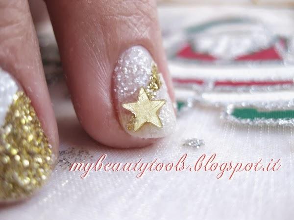 idee makeup e nailart per il Natale
