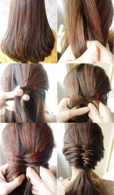 casual braid- simple