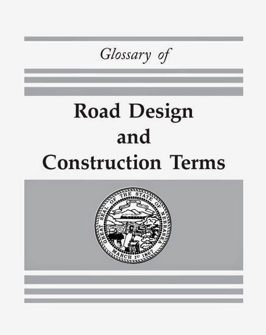 Dictionary of road design and construction terms online for Construction dictionary