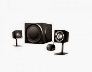 Snapdeal: Buy Creative GigaWorks T3 2.1 Multimedia Speakers at Rs.14114