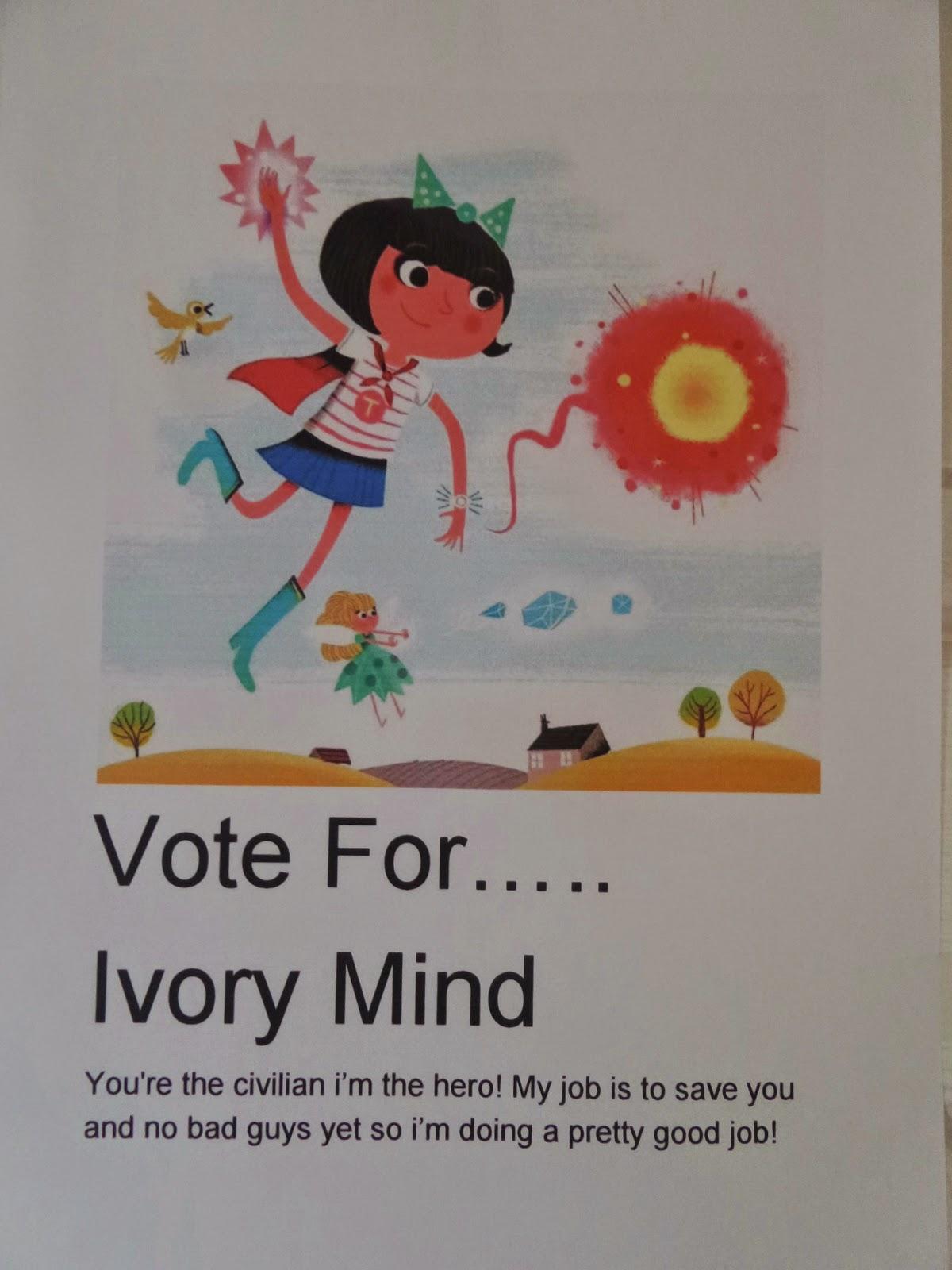 Vote For..... Ivory Mind