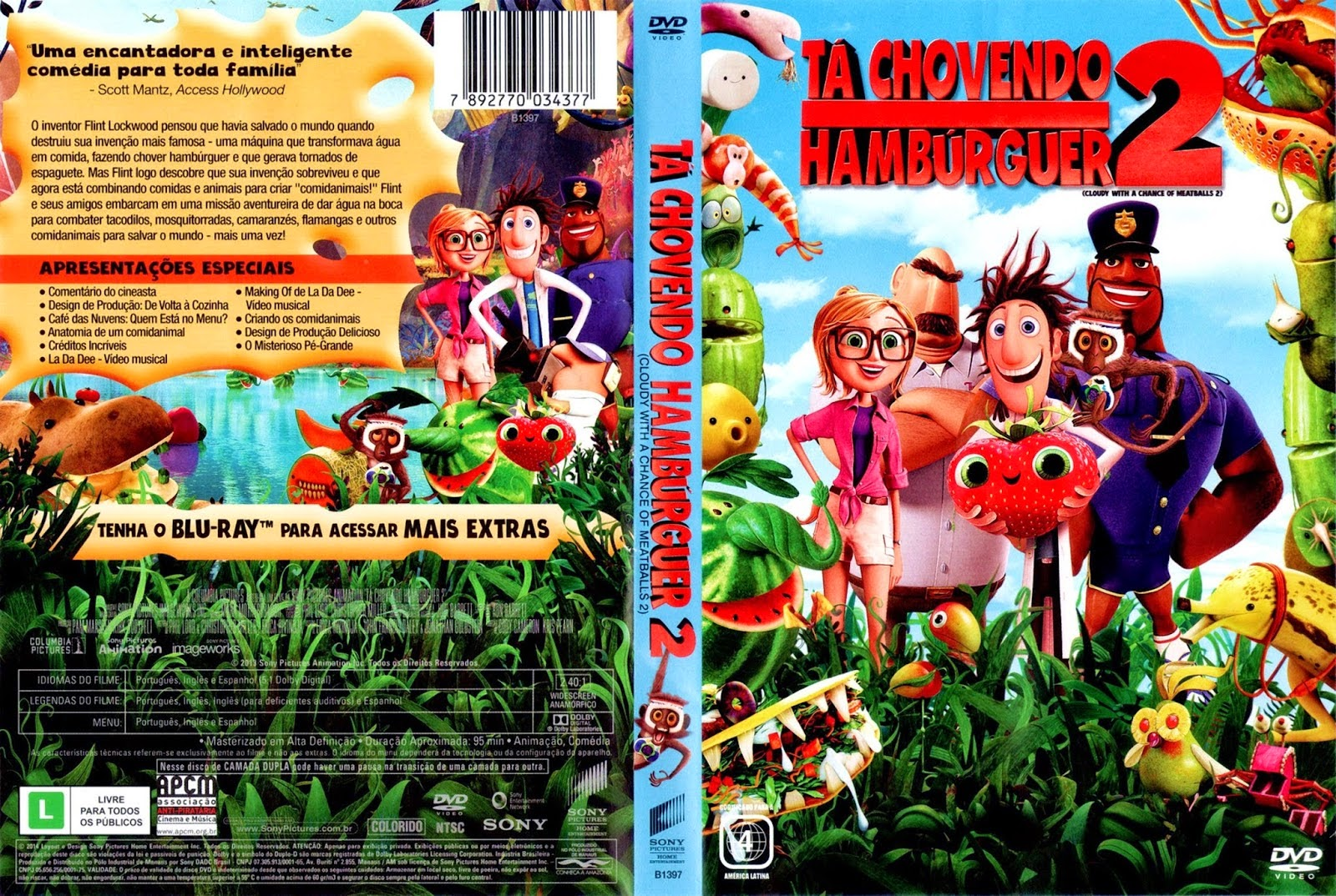 download do filme ta chovendo hamburguer 2 dublado torrent