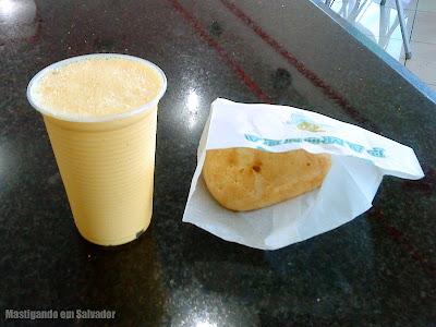Rei da Pamonha: Milk Shake de Milho Verde e Pão de Queijo