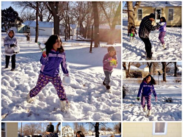 Nuestro Primer Invierno Disfrutando de la Nieve