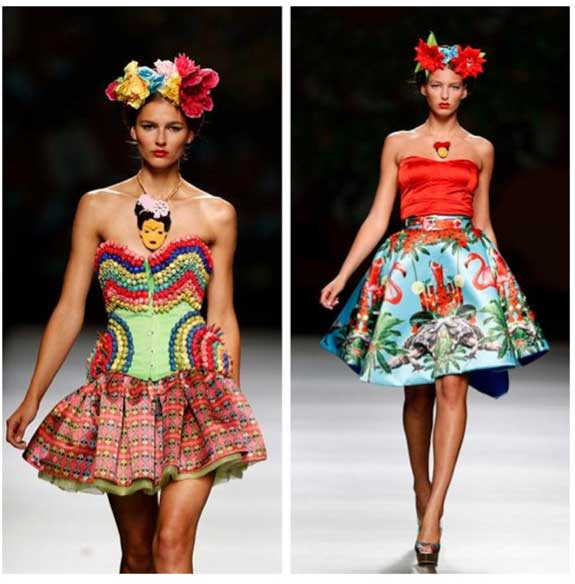 frida kahlo como cono de moda belkamoda. Black Bedroom Furniture Sets. Home Design Ideas