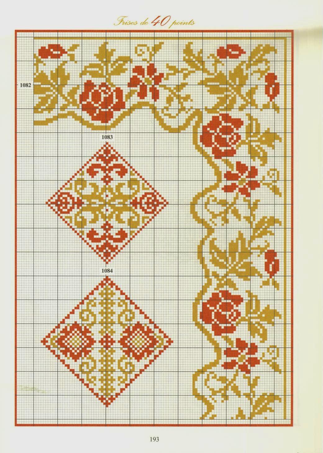 Котейкины хотелки;): repertoire de frises. орнаменты и бордю.