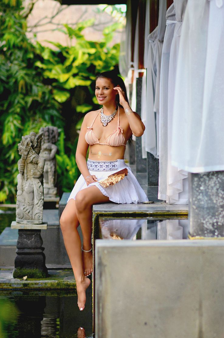 Tamara Chloé, Hunkemoller, Sylvie Collection, Beachwear, Flash tattoo, Myca Couture, Bali, Indonesia, Lagian beach Hotel