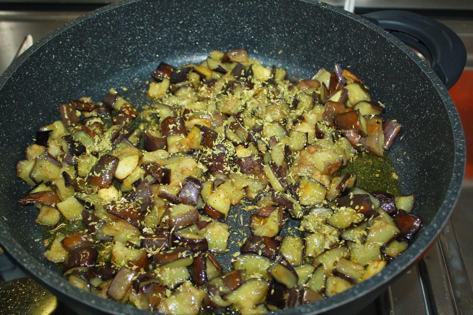 melanzane al funghetto ricetta