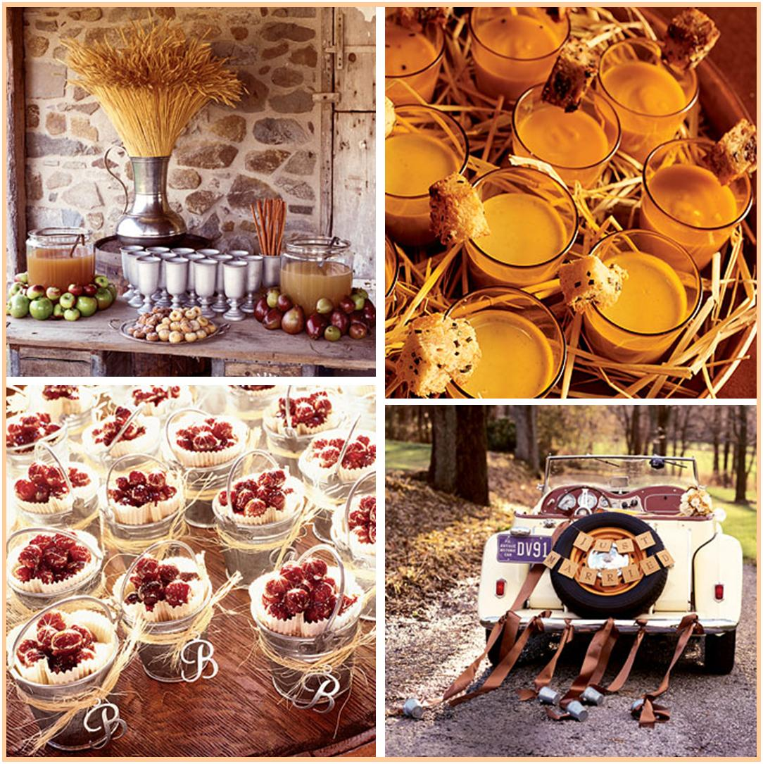 Lq designs september 2012 for Autumn wedding decoration