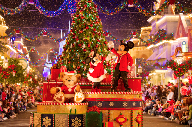 Natal Disney Magic Kingdom Mickey's Merry Christmas Party