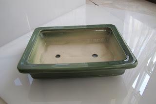 pot keramik bonsai kotak