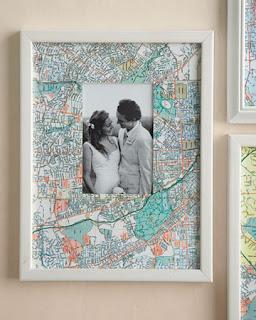 DIY Newlyweds: DIY Home Decorating Ideas & Projects: DIY Map Mania