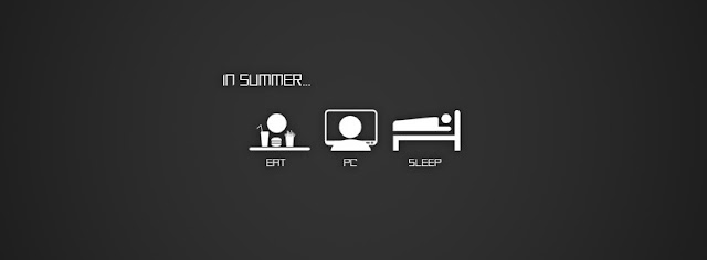 In Summer Daily Routine
