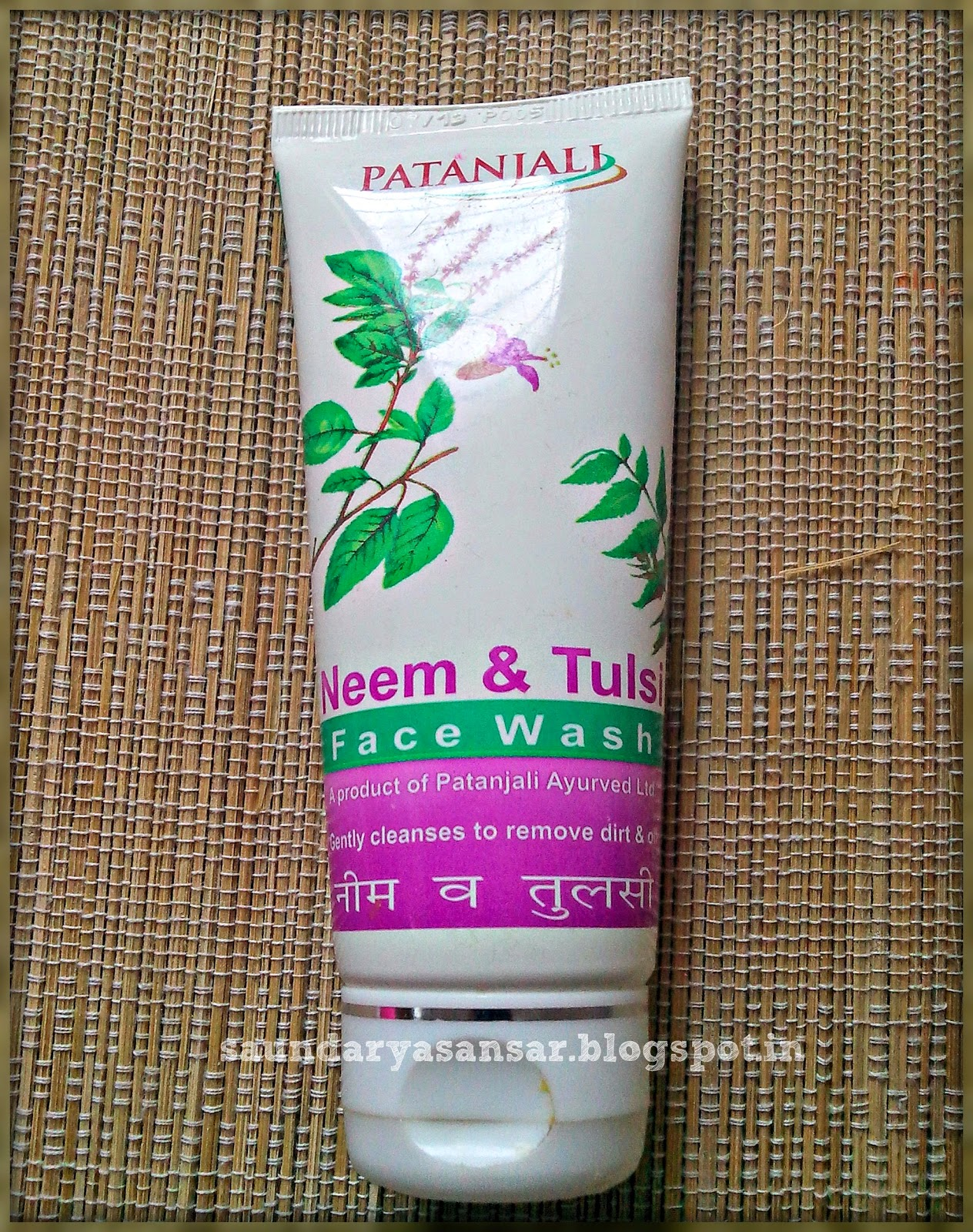 Patanjali-Neem-&-Tulsi-Gel-Face-wash-Review