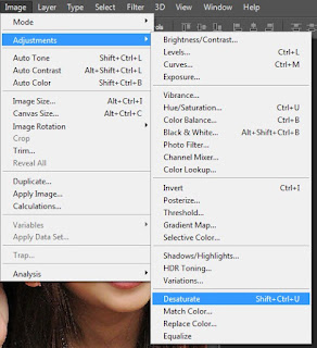 Tutorials for Photoshop Cara Membuat Manipulasi Black White sempurna