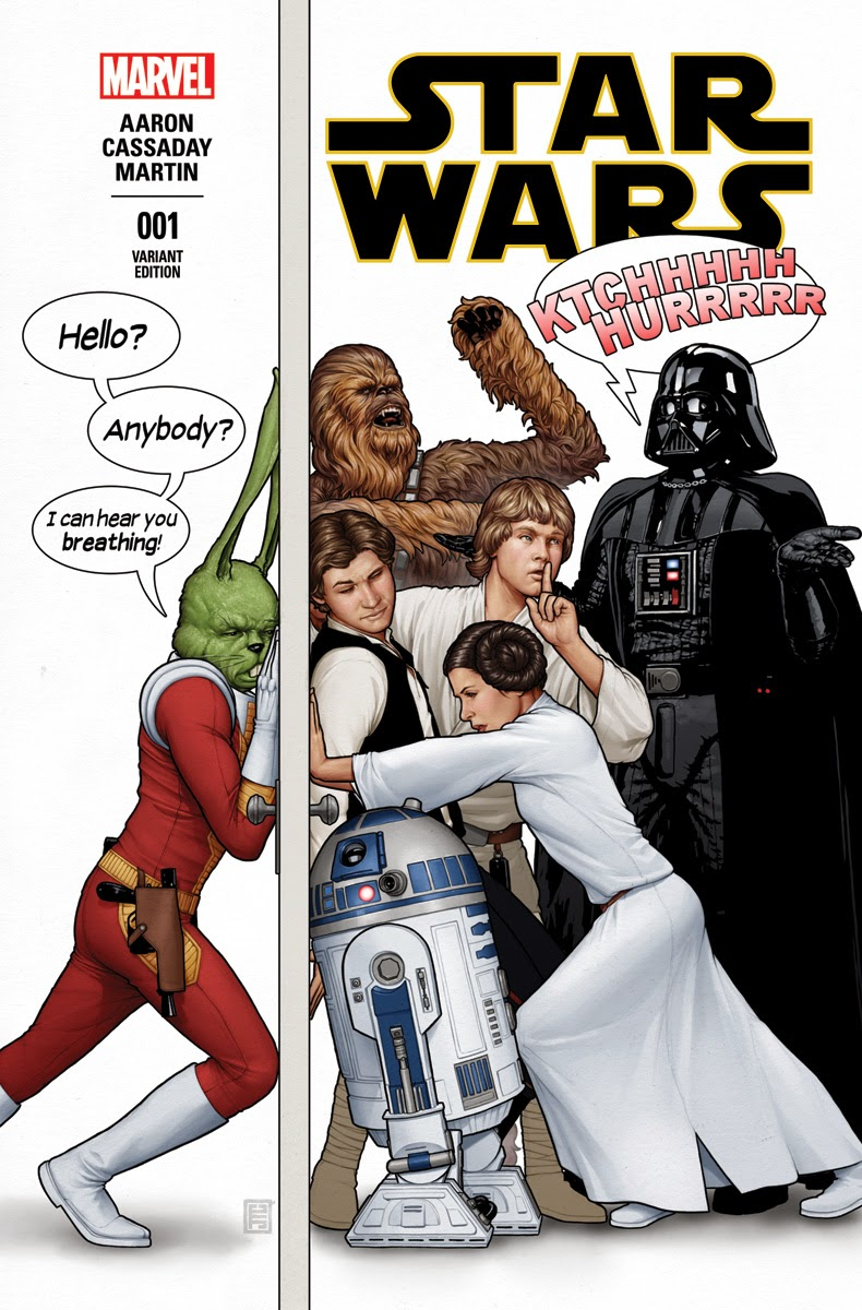 This January, The Iconic Star Wars Franchise Returns To The House Of Ideas  In Grand Fashion With The First Canu0027t Miss Ongoing Series Kicking Off In  STAR ...