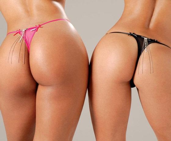 Thong butt