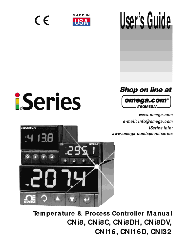 Further Information Of Temperature Controllers Manual Guide