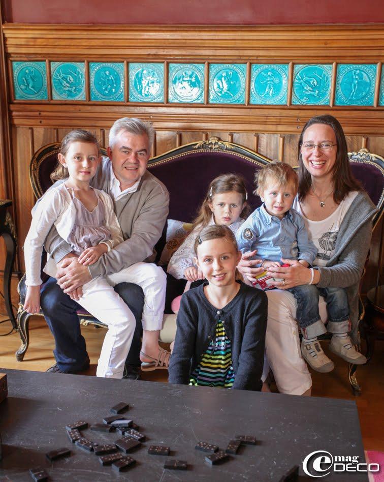 Les propriétaires de la maison d'hôtes Château Clément à Vals-les-Bains en Ardèche