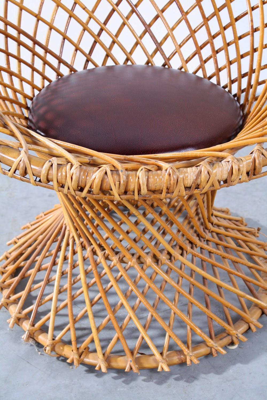 New arrivals vintage design furniture rotan fauteuil rattan chair roh - Rotan stoel van de wereld ...