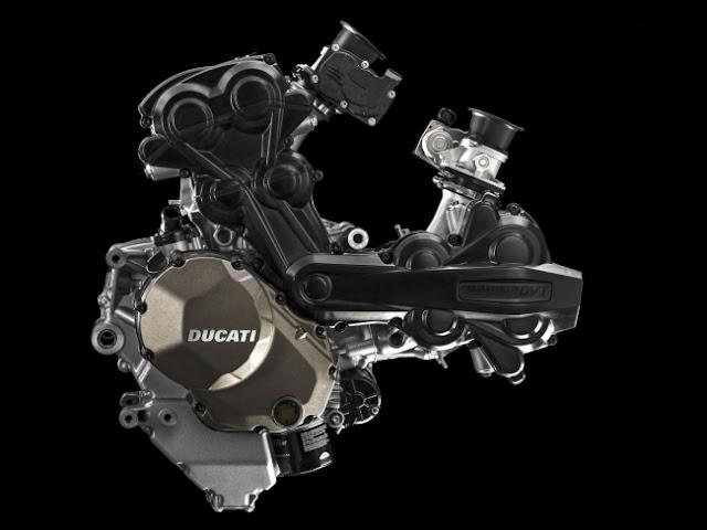 Lebih dekat dengan Testastretta DVT . . mesin baru Ducati dengan konfigurasi L-twin silinder . .