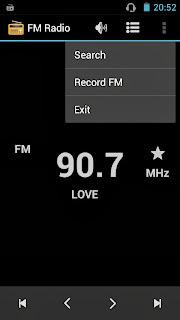 SKK Mobile Mirage S1 FM Radio