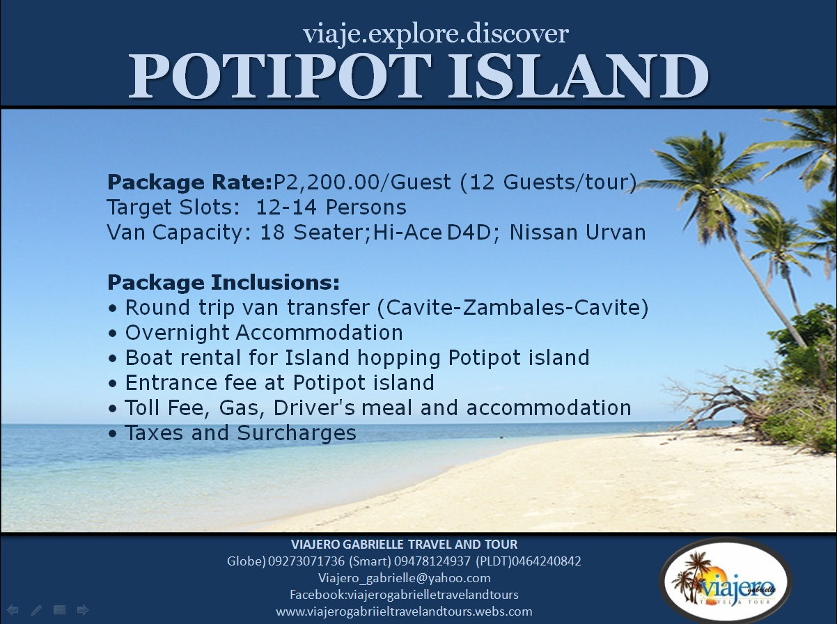 Potipot Island Package