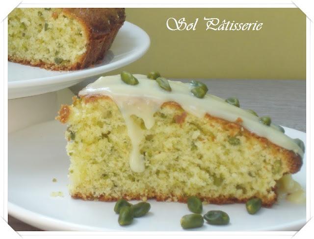 Gâteau à l'huile d'ólive et pistache