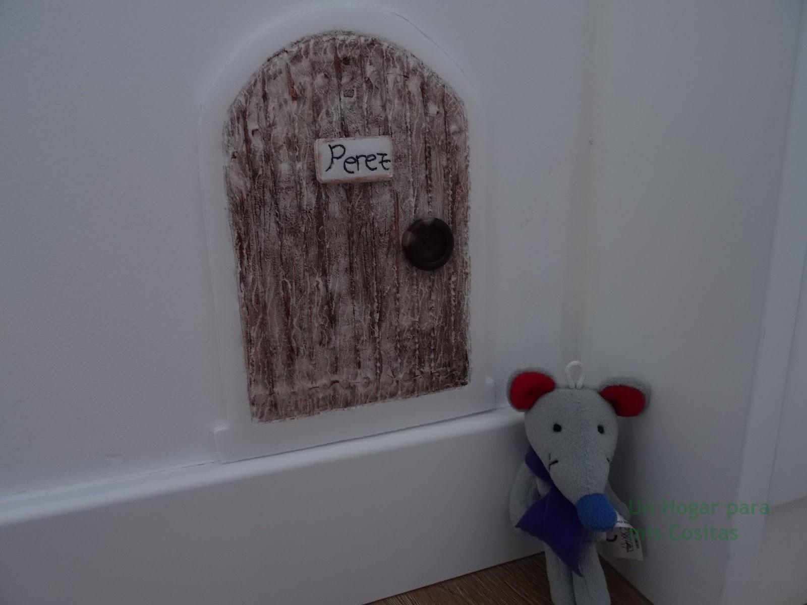 Un hogar para mis cositas diy puerta ratoncito p rez for Materiales para hacer una puerta