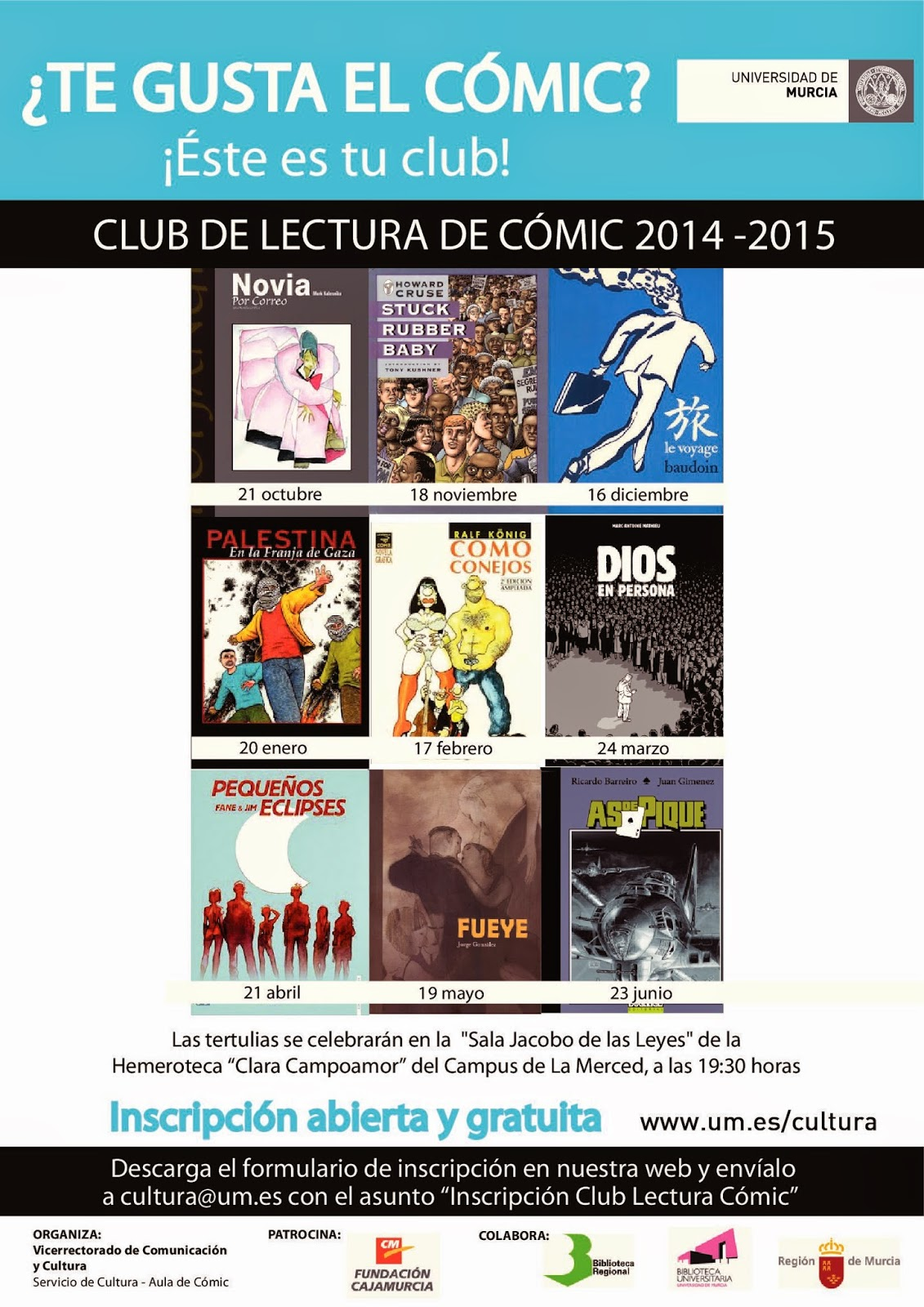 Club de lectura de cómic.