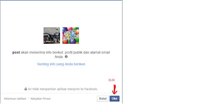 cara memberi ucapan selamat ulang tahun di facebook secara otomatis