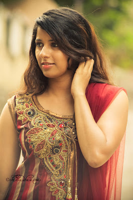 Actress shravya reddy new portfolio photos gallery