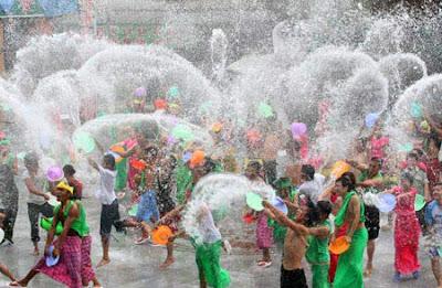 Songkran Water Festival in Pattaya