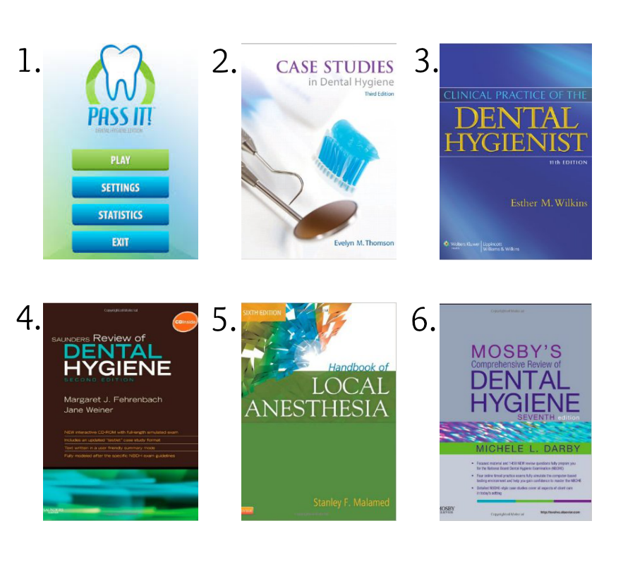 Dental Hygienist university subject list