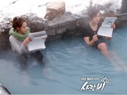 وبوسترات الدراما اليابانية Love Rain