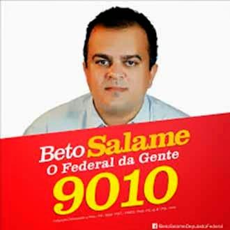 PESQUISA PARA DEP. FEDERAL - BETO SALAME DE MARABÁ APARECE EM TERCEIRO LUGAR – VEJA A LISTA