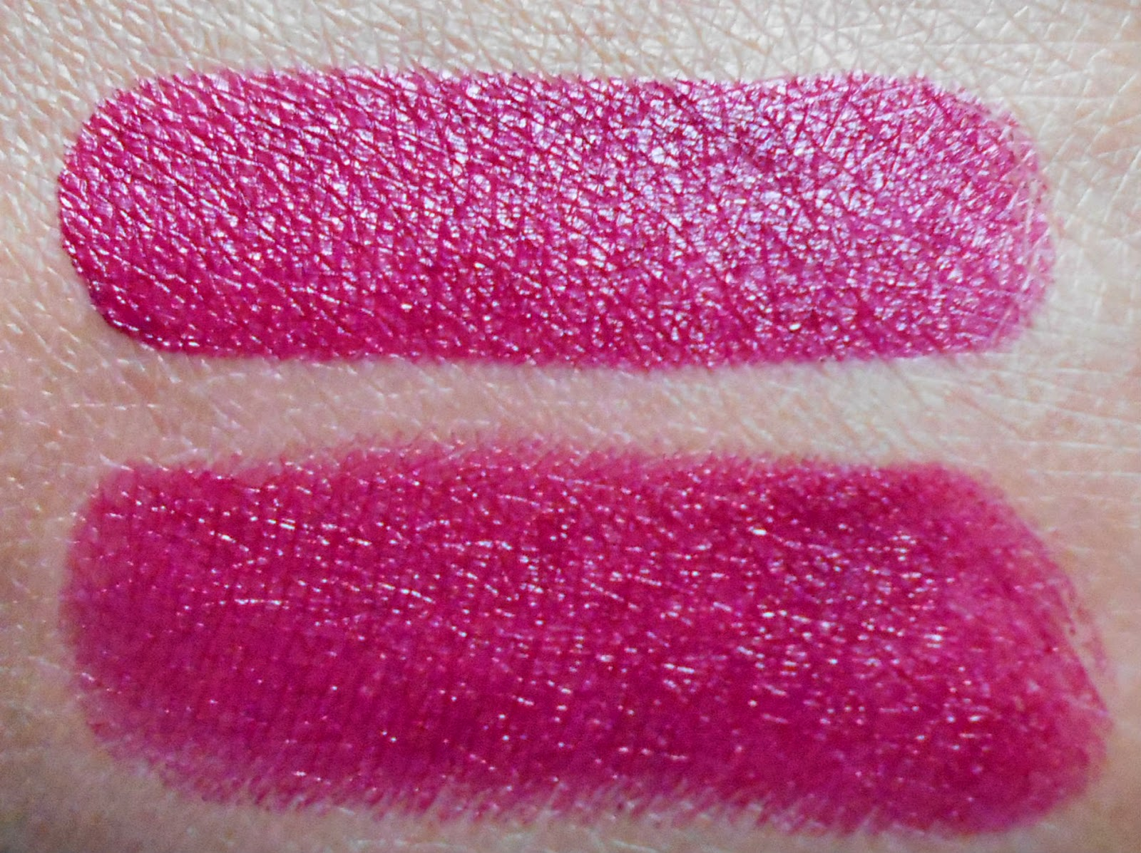 Drugstore Dupe of Mac Rebel Lipstick