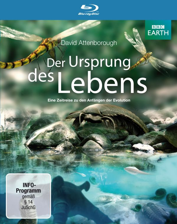 Der Ursprung des Lebens Blu-ray Cover