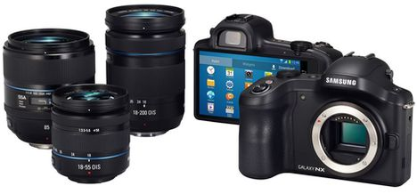 Samsung, Samsung GALAXY NX, GALAXY NX, Video