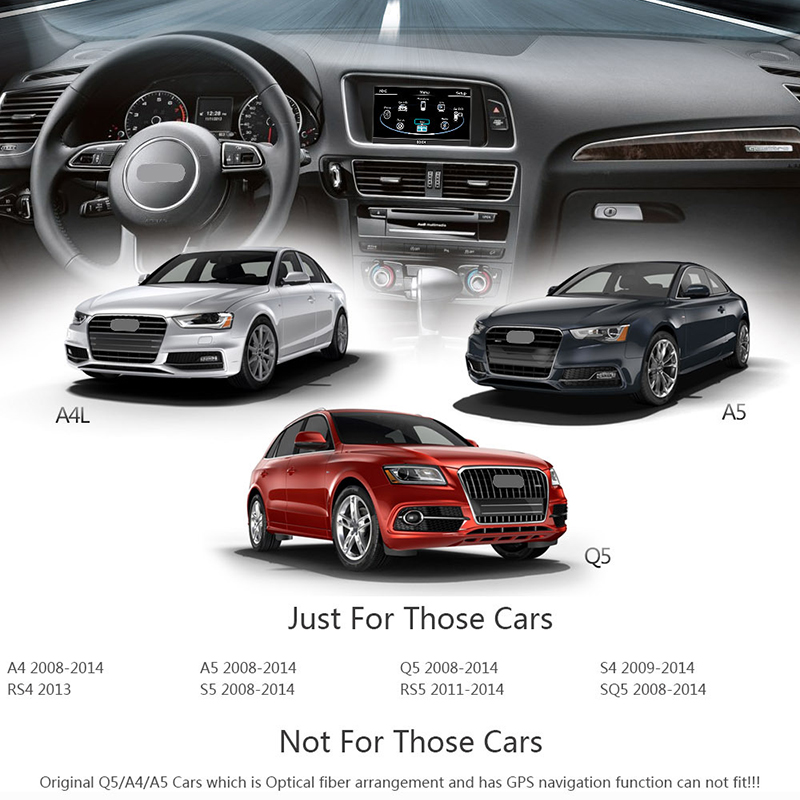 how to play usb in audi s5 v8