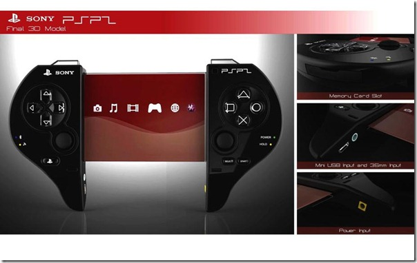 Concept of Portable Sony PSP